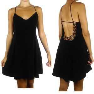 Silence + Noise UO cut out low back mini dress
